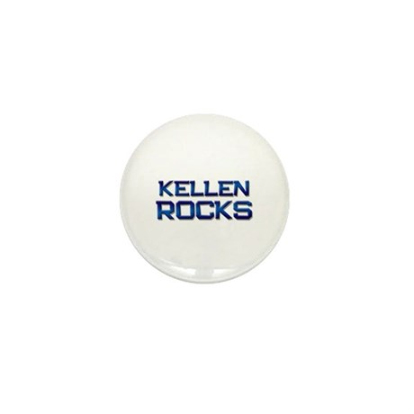 kellen rocks Mini Button (10 pack)