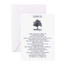 Mighty Oak Greeting Cards (Pk of 10)