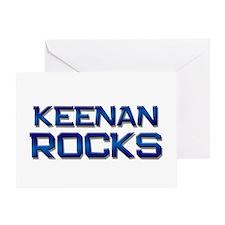 keenan rocks Greeting Card