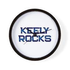 keely rocks Wall Clock
