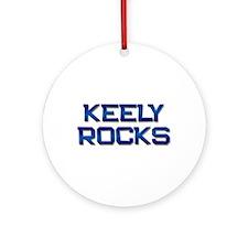 keely rocks Ornament (Round)