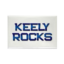 keely rocks Rectangle Magnet