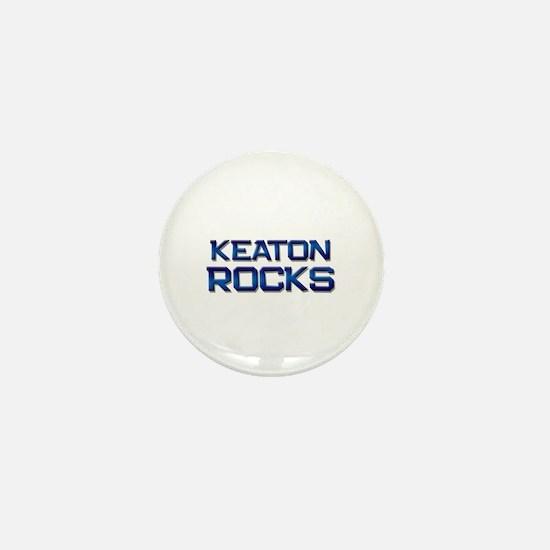 keaton rocks Mini Button