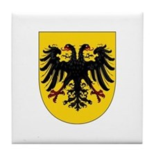 Holy Roman Empire after 1368 Tile Coaster