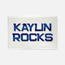 kaylin rocks Rectangle Magnet