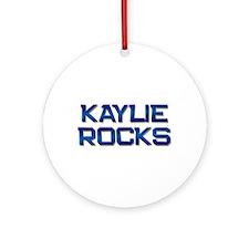 kaylie rocks Ornament (Round)