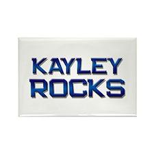 kayley rocks Rectangle Magnet