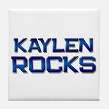 kaylen rocks Tile Coaster