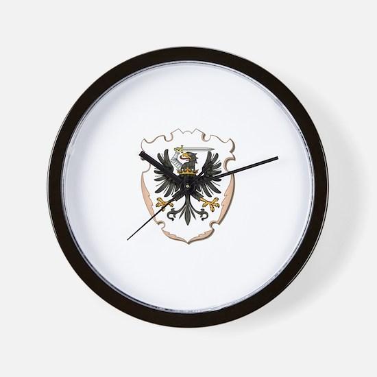Royal Prussia Wall Clock