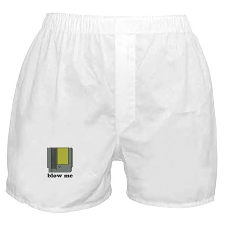 blow me Boxer Shorts