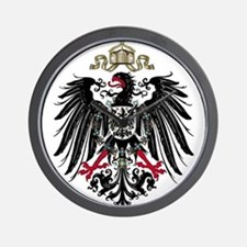 German Empire Wall Clock