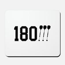 180 Darts!!! Mousepad