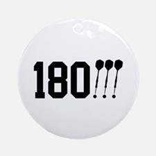 180 Darts!!! Ornament (Round)