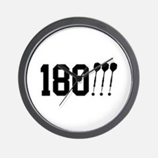 180 Darts!!! Wall Clock