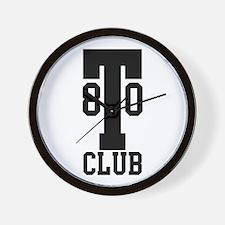 T80 CLUB - Ton 80 Wall Clock