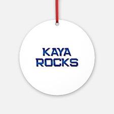 kaya rocks Ornament (Round)