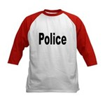 Police (Front) Kids Baseball Jersey