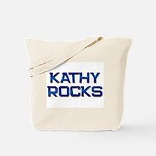 kathy rocks Tote Bag