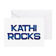 kathi rocks Greeting Card