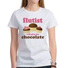 Funny Chocolate Flute Tee