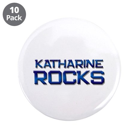 "katharine rocks 3.5"" Button (10 pack)"