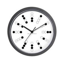 Harvey Balls Binary Wall Clock
