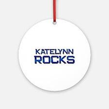 katelynn rocks Ornament (Round)