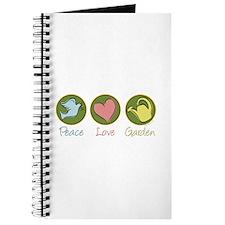 Peace Love Garden Journal