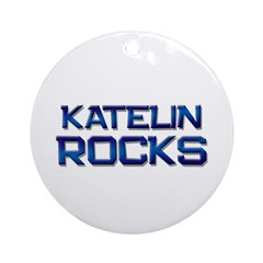 katelin rocks Ornament (Round)