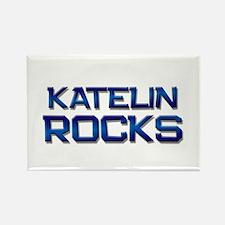 katelin rocks Rectangle Magnet