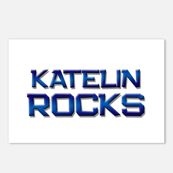 katelin rocks Postcards (Package of 8)