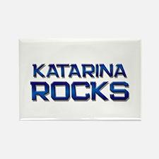 katarina rocks Rectangle Magnet