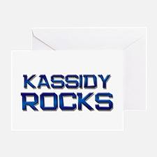 kassidy rocks Greeting Card
