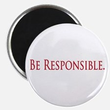 Be Responsible Magnet