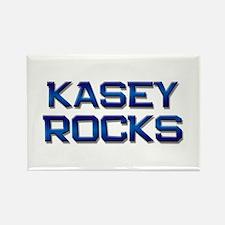 kasey rocks Rectangle Magnet