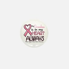 In My Heart 2 (Grandma) PINK Mini Button (10 pack)
