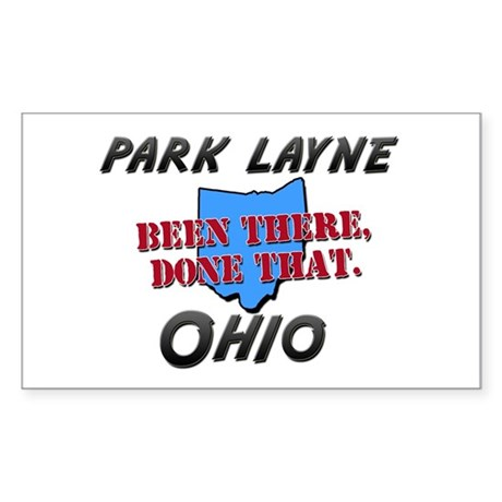 park layne ohio - been there, done that Sticker (R