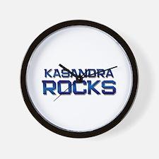 kasandra rocks Wall Clock