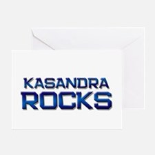 kasandra rocks Greeting Card