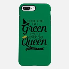 Once You Go Green iPhone 7 Plus Tough Case