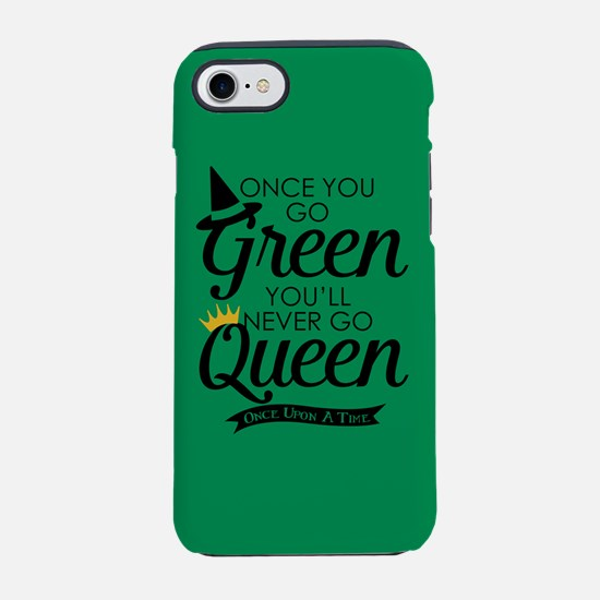 Once You Go Green iPhone 7 Tough Case