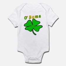 O' Bama shamrock Infant Bodysuit