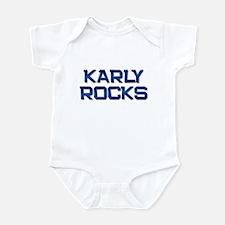 karly rocks Infant Bodysuit