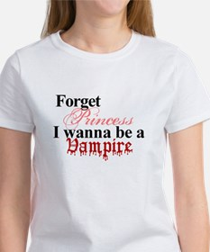 Forget Princess Vampire Twilight Tee