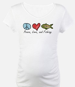 Peace, Love, Fishing Shirt