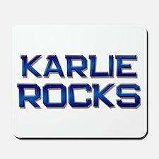 karlie rocks Mousepad