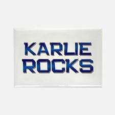 karlie rocks Rectangle Magnet