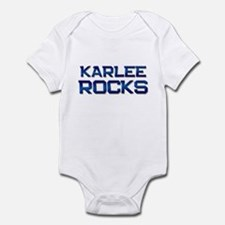 karlee rocks Infant Bodysuit