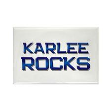 karlee rocks Rectangle Magnet