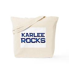 karlee rocks Tote Bag